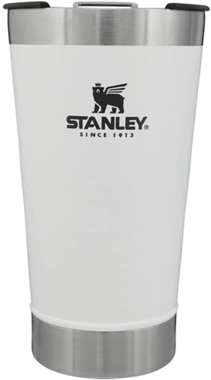 Copo Térmico de Cerveja Stanley c/ tampa 473ml - Branco