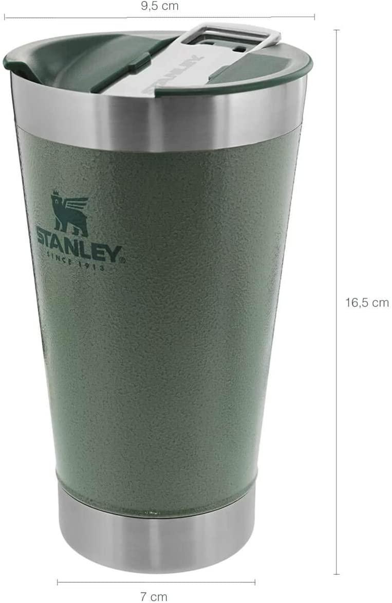 Copo Térmico de Cerveja Stanley c/ tampa 473ml - Verde