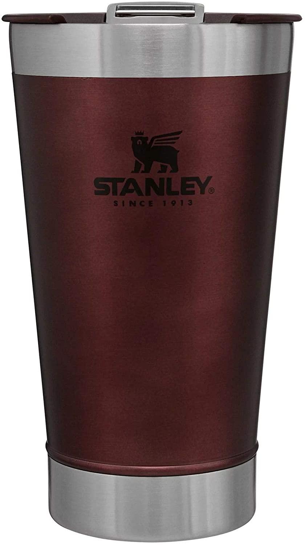 Copo Térmico de Cerveja Stanley c/ tampa 473ml - Vermelho