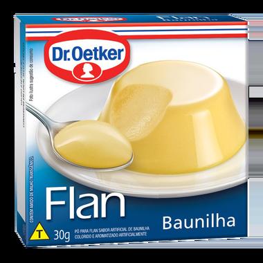 Flan Baunilha 30g