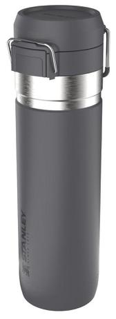 Garrafa Térmica  Stanley Go Flip Charco 710ml - Cinza