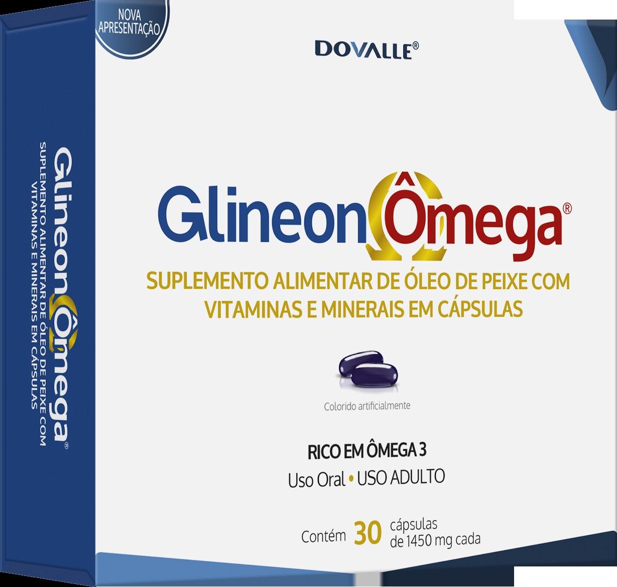 Glineon Ômega c/30 Cápsulas de Gel