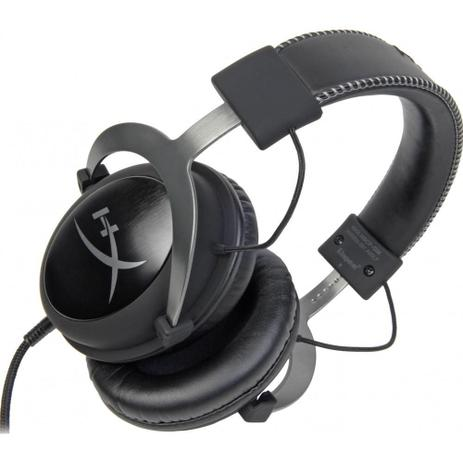 Headset Gamer HyperX Cloud II KHX-HSCP-GM- Preto / Cinza