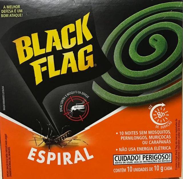 Inseticida Espiral Com 10 Unidades - Black Flag