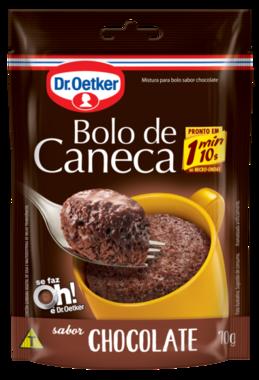 Kit c/ 12un Bolo de Caneca Chocolate 70g