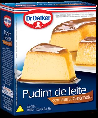 kit c/ 09un Pudim de Leite com calda de caramelo 148g