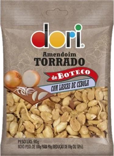 Kit c/ 18un Amendoim Boteco Lascas de Cebola 90g - Dori