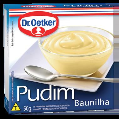 Kit c/ 18un Pudim Baunilha 50g