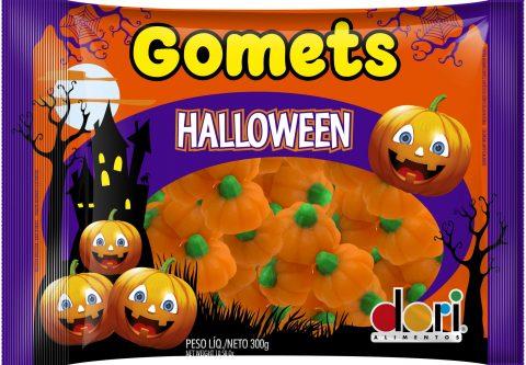 Kit c/ 6un Goma  Halloween Gomets 300g