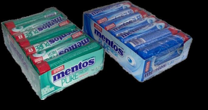 Kit Mentos Pure Fresh c/ 2un