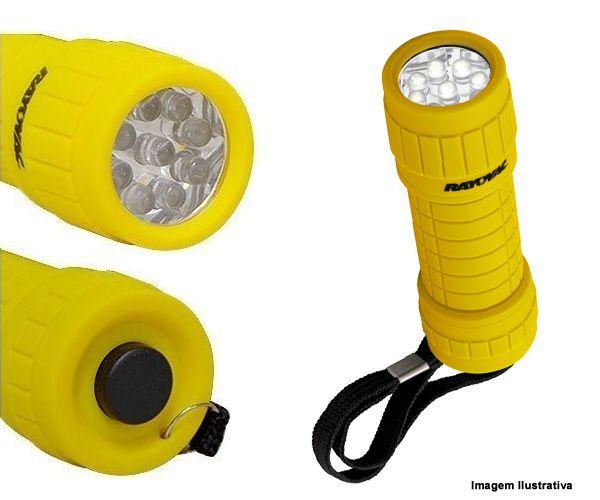 Lanterna 9 LEDs com 3 pilhas AAA Sortida - Rayovac