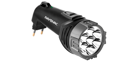 Lanterna Recarregável 7 LEDS BIVOLT - Rayovac
