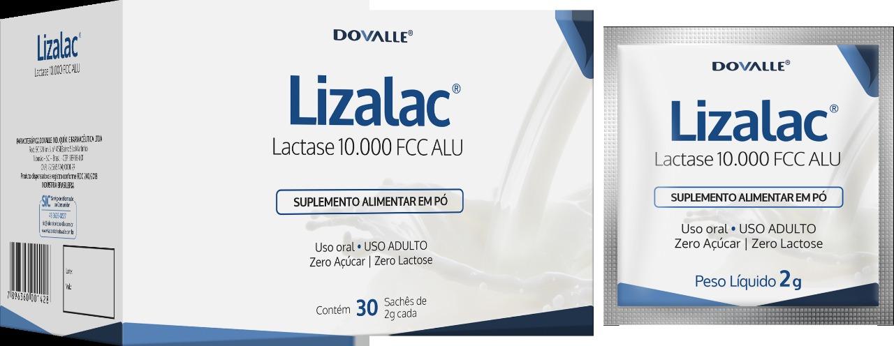 Lizalac 10000 FCC ALU c/30 Sachês de 2g