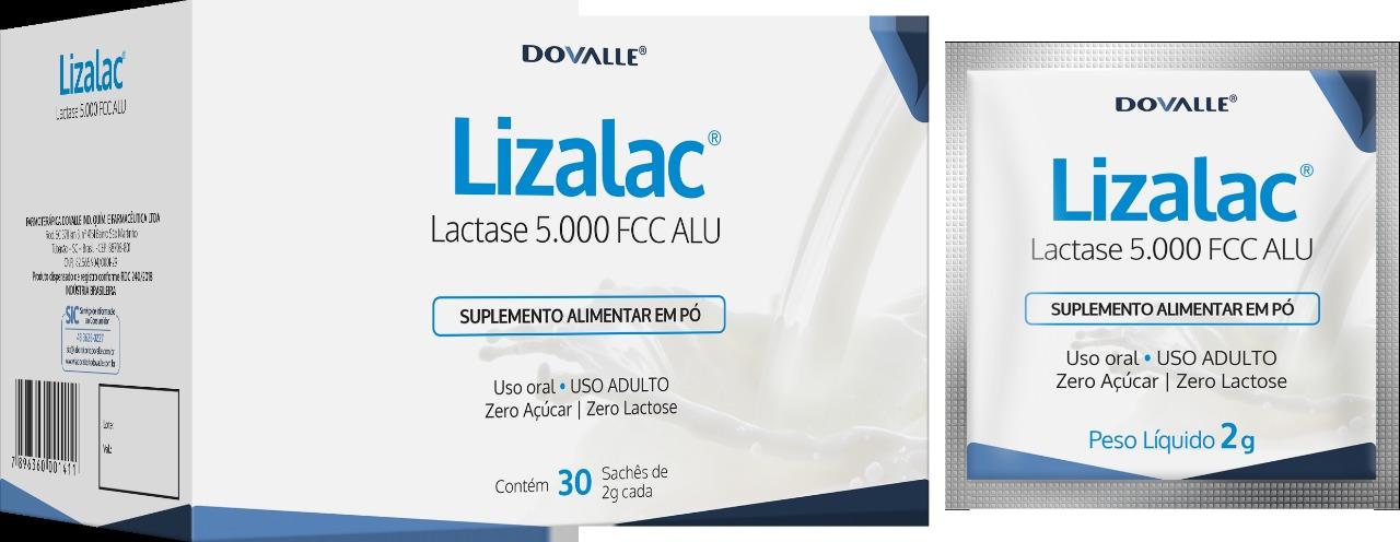 Lizalac 5000 FCC ALU c/30 Sachês de 2g