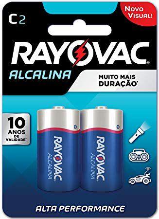 Pilha Alcalina C - Rayovac