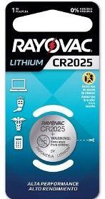 Pilha Especial CR2025 - Rayovac
