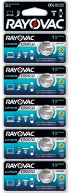 Pilha Especial CR2032 Multiblister - Rayovac