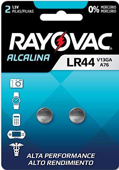 Pilha Especial V13GA / LR44 - Rayovac