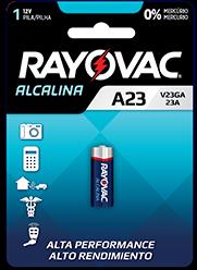 Pilha Especial V23GA 12V - Rayovac