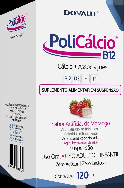 PoliCálcio B12 Gotas 120ml