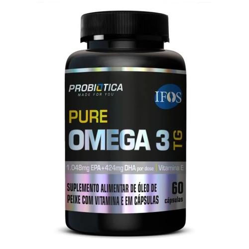 Pure Ômega 3 TG 60 cáp. - Probiótica