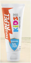 Repelente Kids Protection Loção 100ml - Rapid Repel