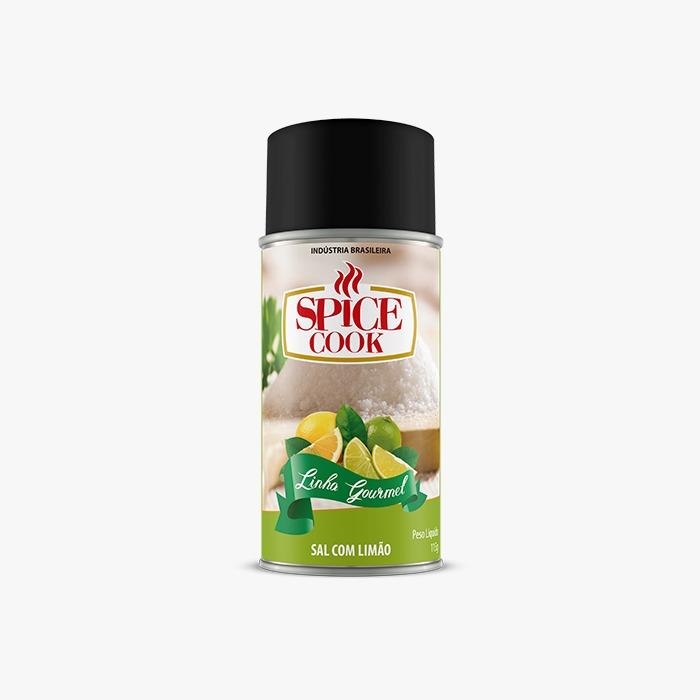 Tempero Sal com Limão 115g - Spice Cook