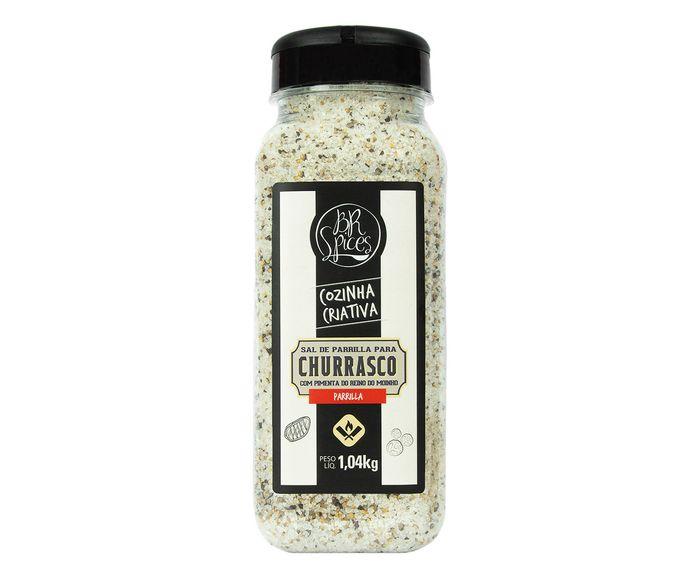 Sal de Parrilla com Pimenta do Reino 1,04Kg - BR Spices