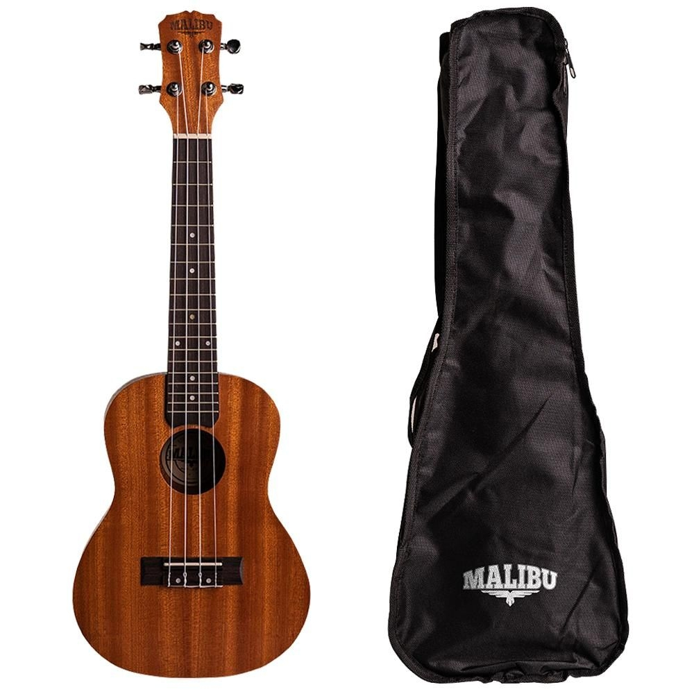 Ukulele Malibu Concert  23S Natural Fosco Com Bag