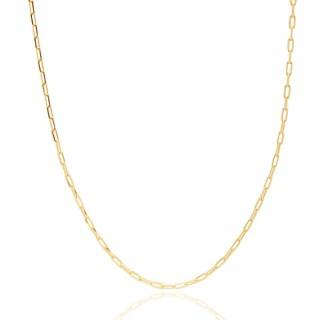 Colar Cartier Masculino 70 cm Folheado a Ouro