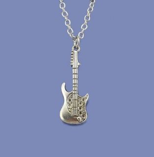 Colar Gargantilha Guitarra Rock Folheado A Ouro 18k