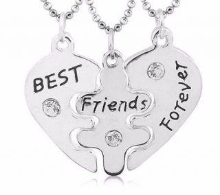 Colar Melhores Amigas Best Friends Amizade Folheado - B56
