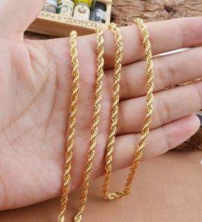 Cordão Baiano Unissex Folheado A Ouro 60CM