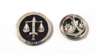 Pin Botton Broche Profissões Direito Advogado
