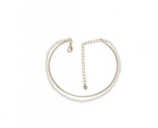 Pulseira Bracelete Com Strass Casamento Folheado A prata