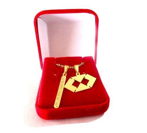 Colar Administração Plaquinha Folheado A Ouro 18k Promoção !