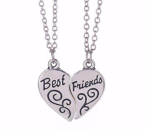Colar Amizade Best Friends Sempre Amiga Corrente B4