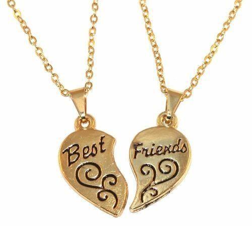 Colar Best Friends Amigas Parceiras Lembrancinhas