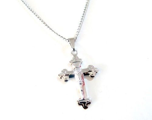 Colar Cruz Jesus Cristo Aço Inox Promoção !