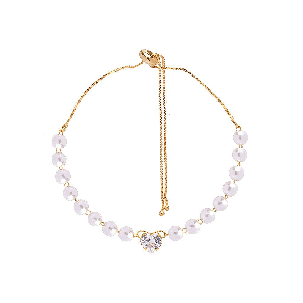 Kit 15 Pulseira Madrinha Gravata Pedra Cristal Folheado Ouro