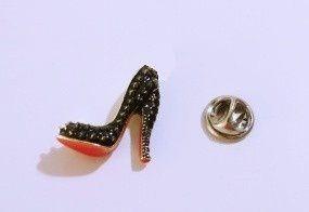 Pin Botton Broche Sapato Resinado Moda Lindíssimo!