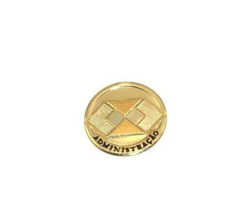 Pin Broche Administração Administrador Folheado Ouro