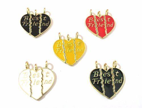 Pingente Best Friends Melhores Amigas Amizade Cada - B34