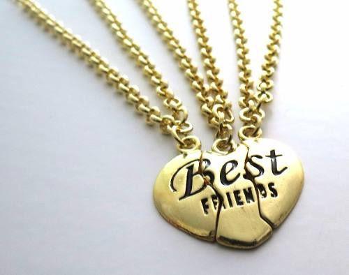 Pulseiras Best Friends Melhores Amigas Amizade Folheada B12