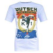 Camiseta MKS Nations Kickboxing - Branca