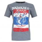Camiseta MKS Nations Muay Thai - Cinza Mescla