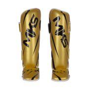 Caneleira Muay Thai e Kickboxing MKS Champions III - Gold