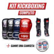 Combo Kickboxing: Ganhe uma Camiseta
