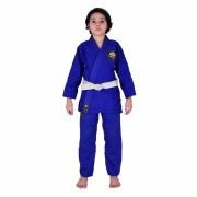 Kimono de Jiu-Jitsu Infantil MKS Kids - Azul