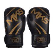 Luva de Boxe MKS Champions III Black/Gold